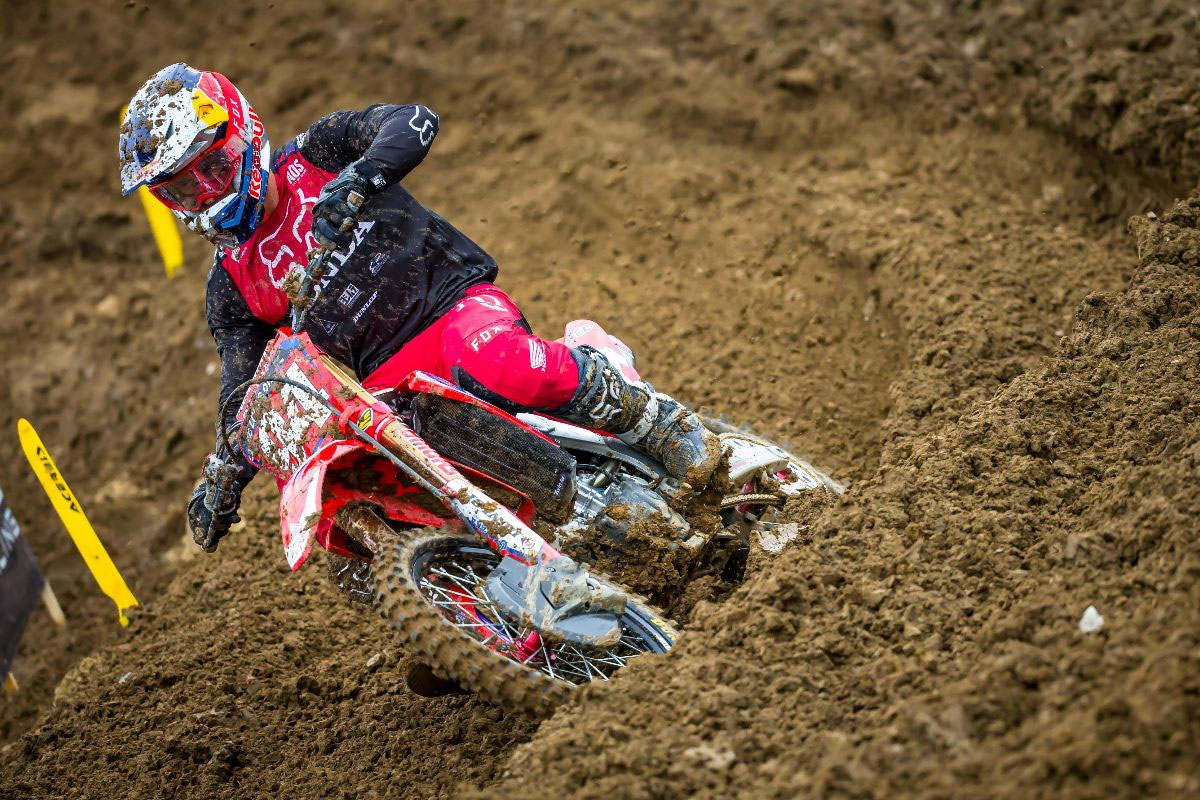 Roczen's 6-1 moto results gave him second overall on the day - High Point National