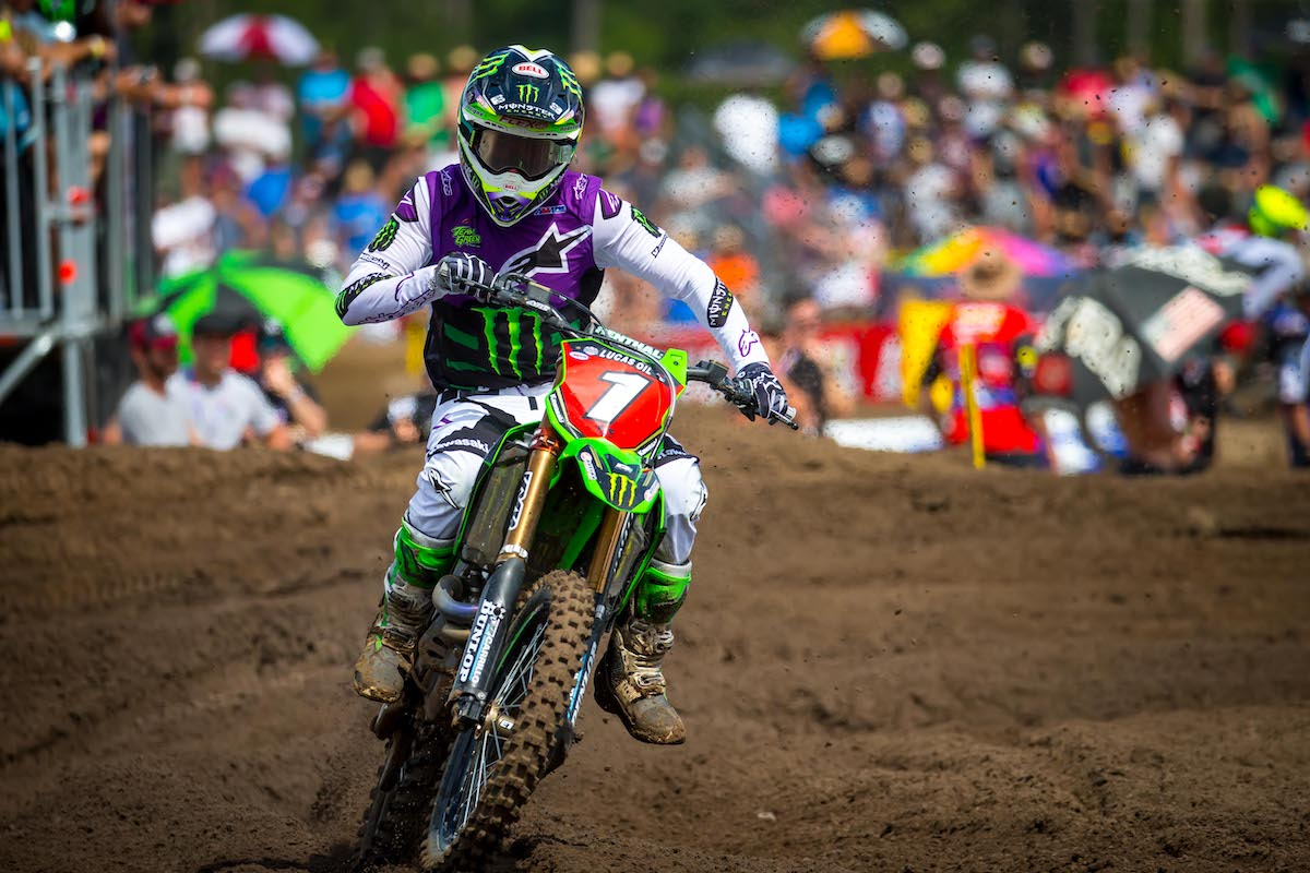 Tomac bounced back from a tough Moto 1 to take an impressive Moto 2 win - US Assure Florida National