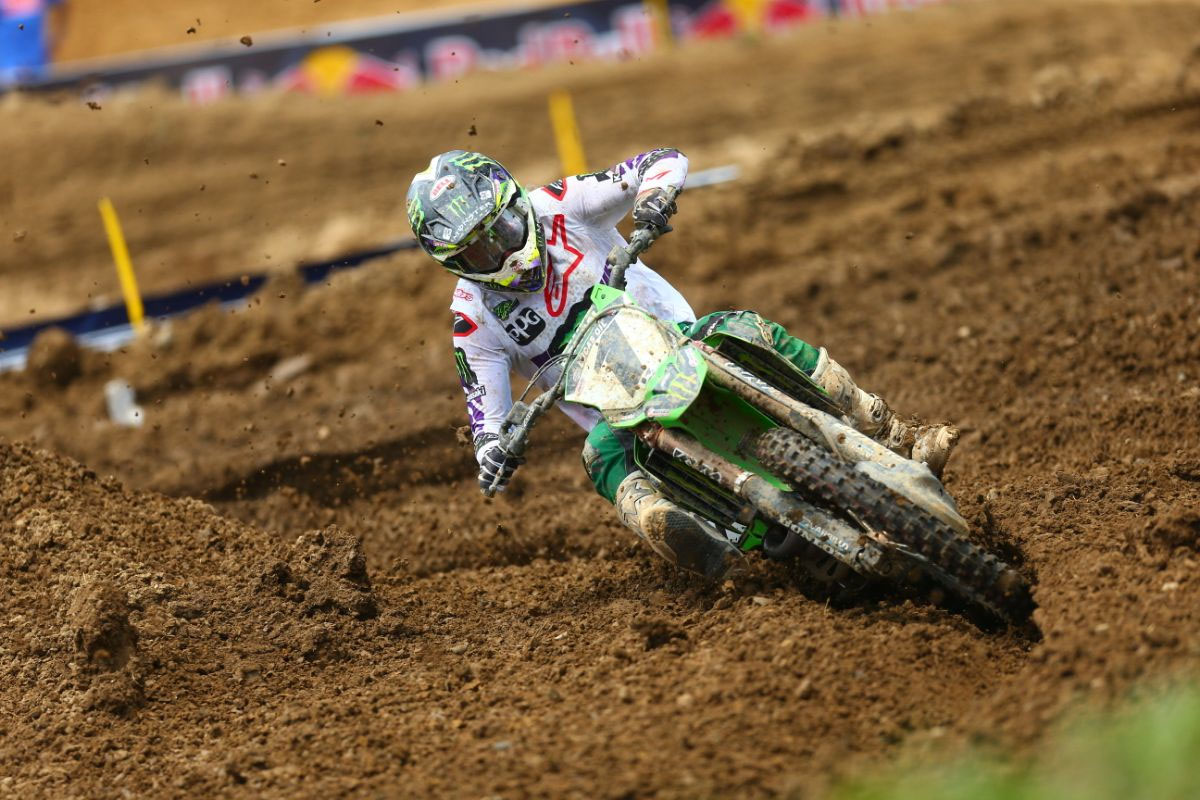 Tomac made a late race charge to claim his second victory of the season - High Point National