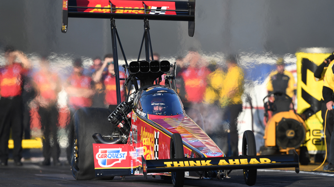 Top Fuel - Brittany Force - NHRA Thunder Valley Nationals