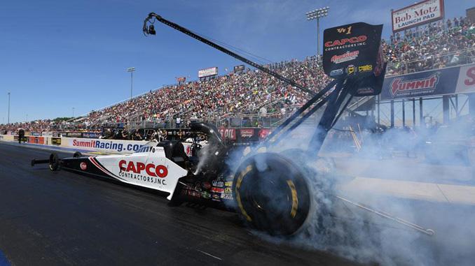 Top Fuel - Torrence - Summit Racing Equipment NHRA Nationals action