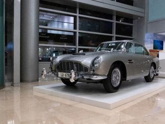 James Bond 1965 Aston Martin DB5 - Photo Credit- Andrew Miterko © 2019 Courtesy of RM Sotheby's