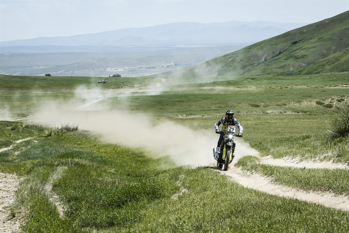Andrew Short – Rockstar Energy Husqvarna Factory Racing - Silk Way Rally - Stage 3