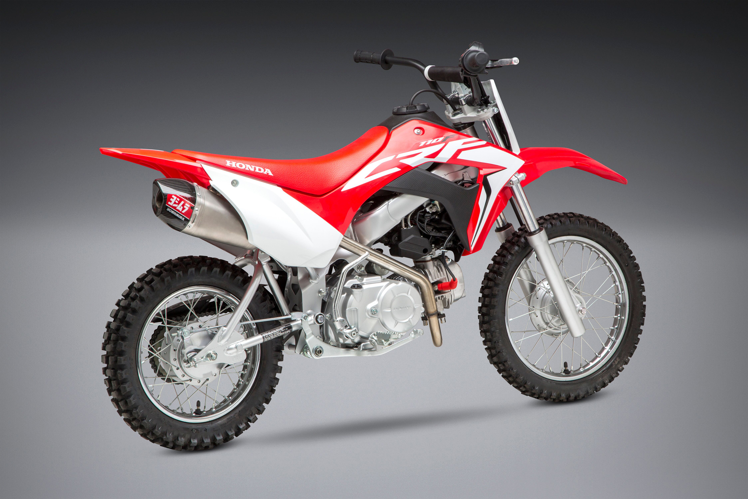 2019 Honda CRF110F with Yoshimura RS-9T FS SS_SS_CF