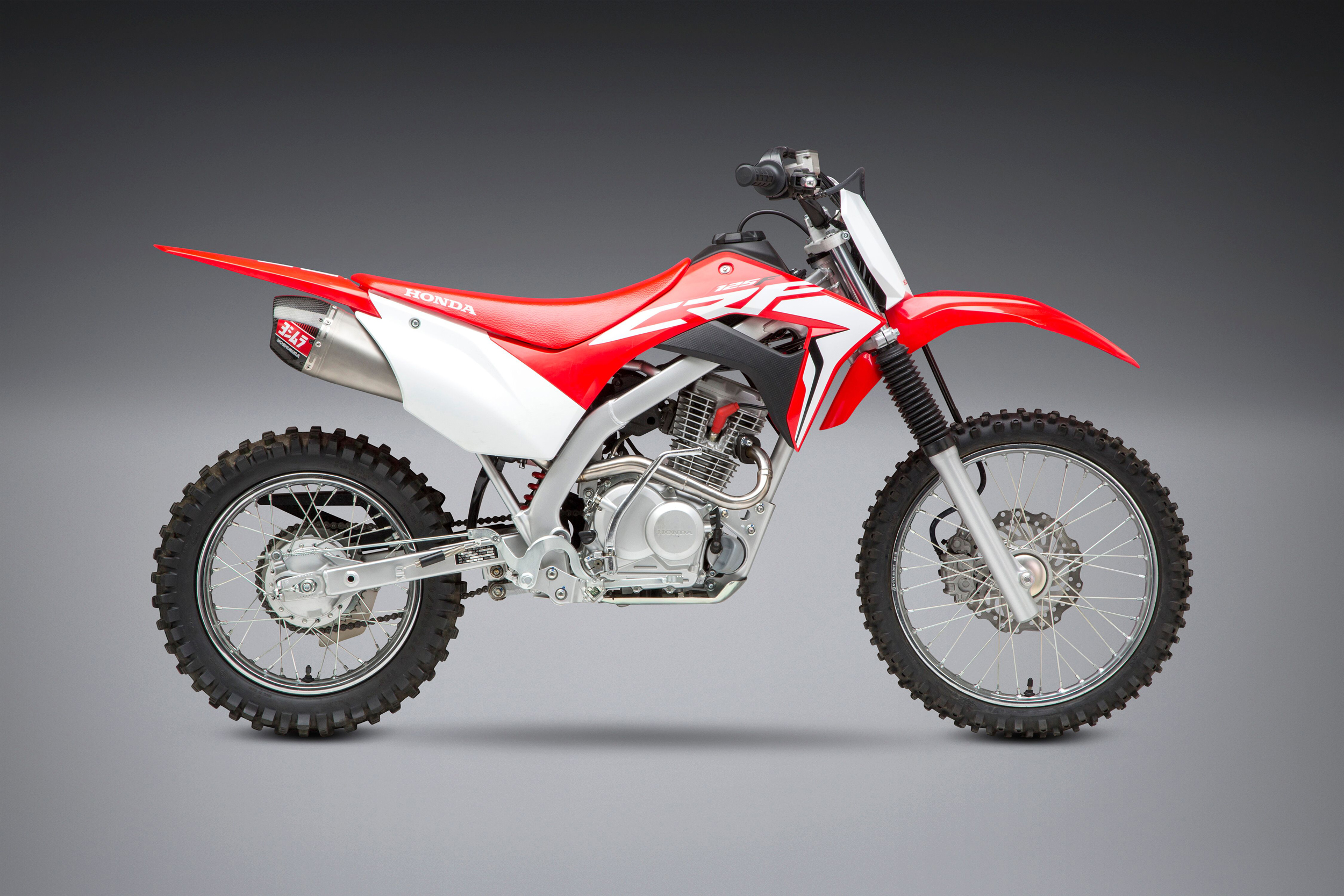 2019 Honda CRF125F with Yoshimura RS-9T FS SS_SS_CF