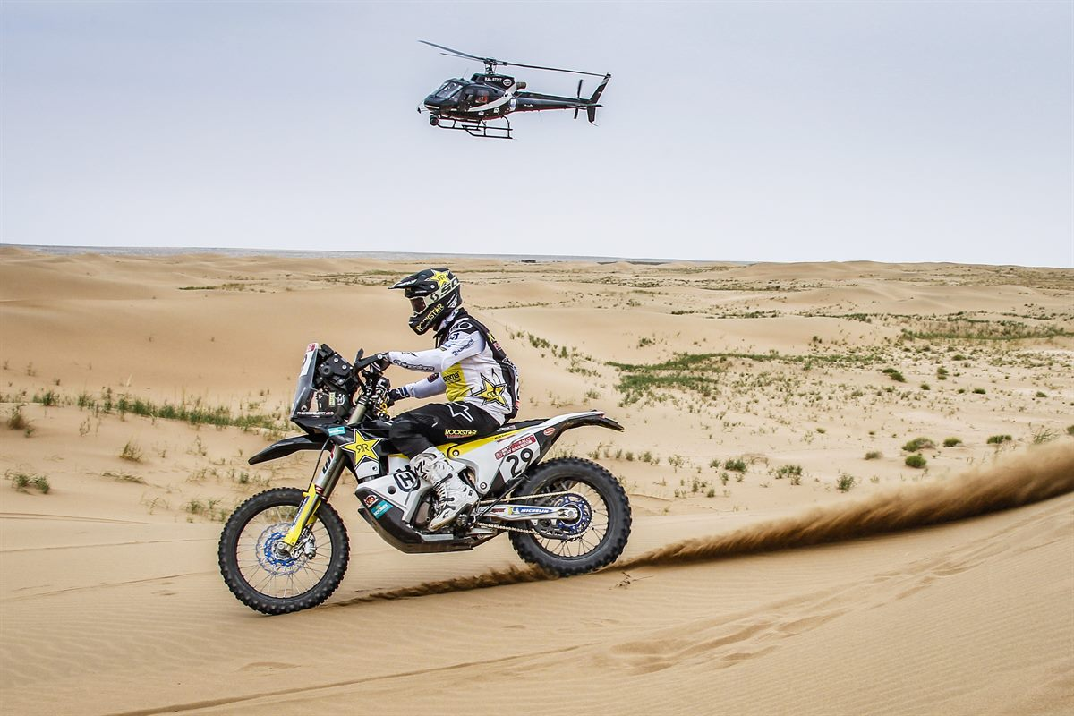 Andrew Short – Rockstar Energy Husqvarna Factory Racing - Silk Way Rally - Stage 8 [1]
