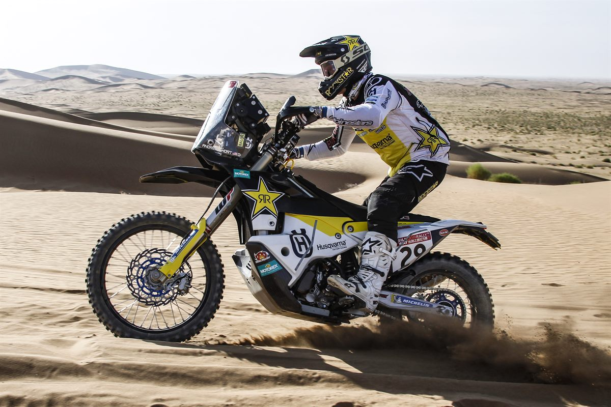 Andrew Short – Rockstar Energy Husqvarna Factory Racing - Silk Way Rally - Stage 9 [1]