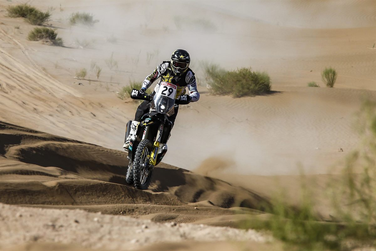 Andrew Short – Rockstar Energy Husqvarna Factory Racing - Silk Way Rally - Stage 9 [3]