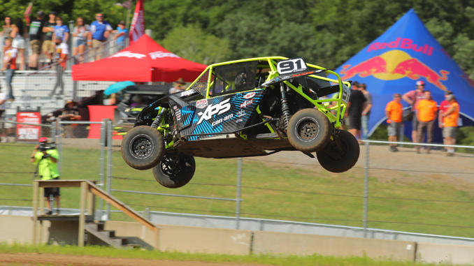 Chaney Wins Two Midwest Short-Course races in Turbocharged Can-Am Maverick X3 Side-by-Side Vehicle