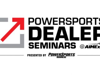 Powersports Dealer Seminars AIMExpo logo