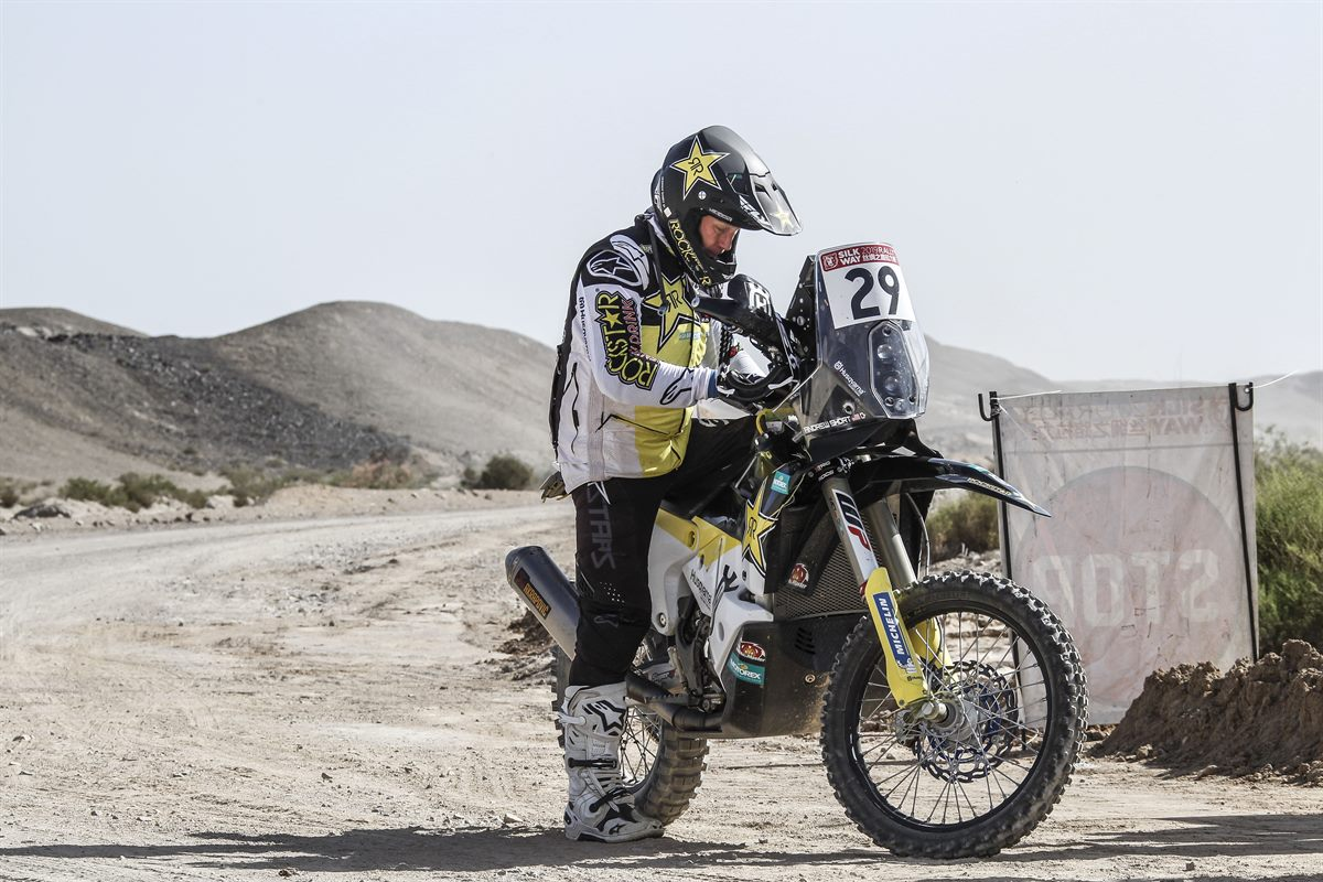 Andrew Short – Rockstar Energy Husqvarna Factory Racing - Silk Way Rally - Stage 10