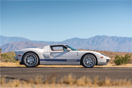 2005 Ford GT (Robin Adams © 2019 Courtesy of RM Sotheby's)