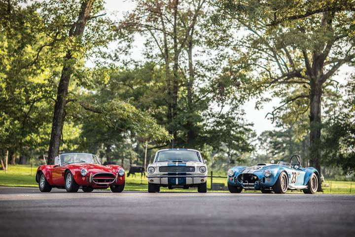 An overview of the cars offered from the Fonvielle Collection at RM Sotheby's Monterey (Nathan Deremer © 2019 Courtesy of RM Sotheby's)