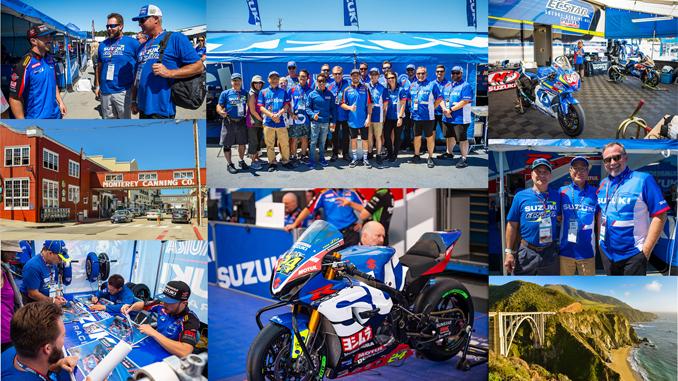 Suzuki Hosts Dealers at Laguna Seca