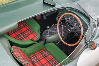 1953 Aston Martin DB3S Works interior (Tim Scott © 2019 Courtesy of RM Sotheby's)