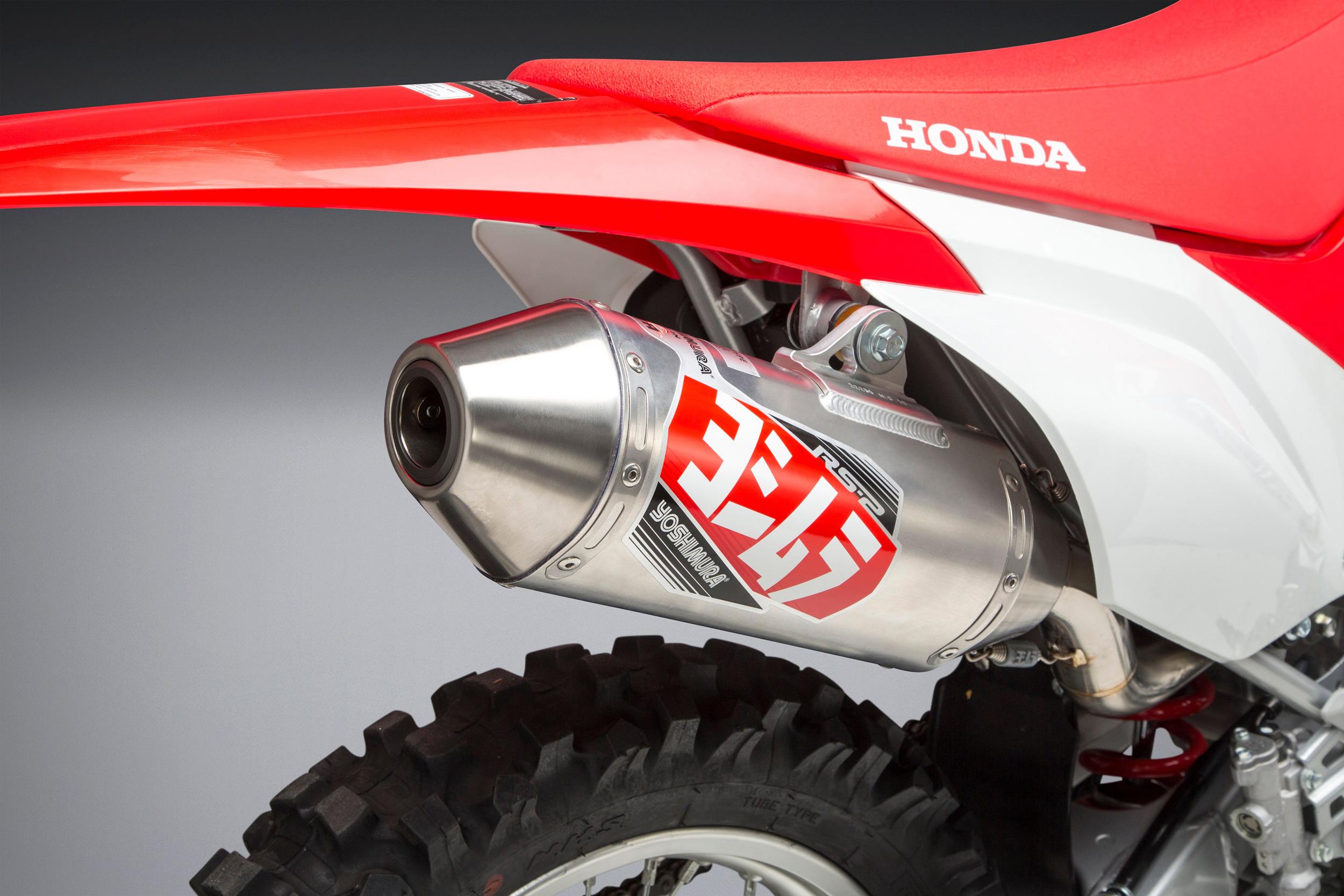 2019 Honda CRF250F with Yoshimura RS-2 FS SS_AL_SS