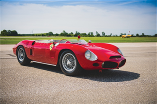 1962 Ferrari 196 SP by Fantuzzi (Darin Schnabel © 2019 Courtesy of RM Sotheby's)