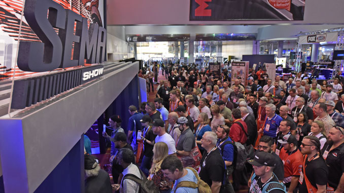 Recognizing that SEMA Show attendees come from more than 140 countries, organizers accommodate international visitors through several resources and events