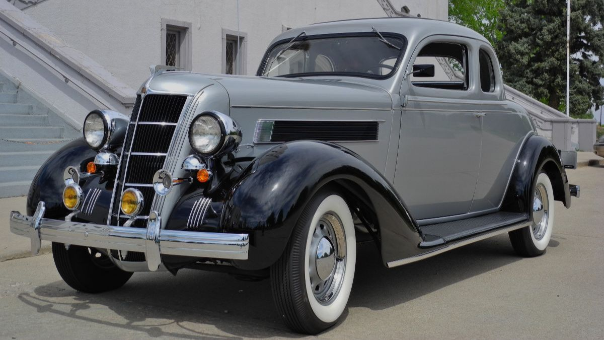 1935 Chrysler C6 Airstream Business Coupe 241 CI, 3-Speed - Mecum Auctions Denver