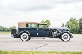 1935 Packard Twelve Convertible - Auburn Fall Sale (© 2019 Courtesy of RM Auctions)