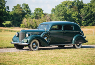 1938 Chrysler Custom Limousine by LeBaron - Auburn Fall Sale (© 2019 Courtesy of RM Auctions)