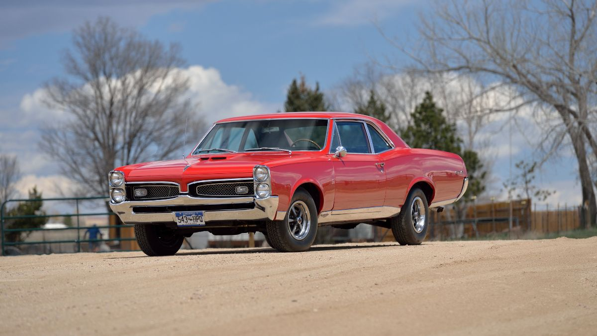 1967 Pontiac GTO 400 CI, Air Conditioning - Mecum Auctions Denver