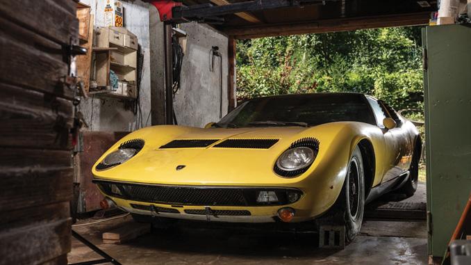 1969 Lamborghini Miura P400 S - Peter Singhof © 2019 Courtesy of RM Sotheby's