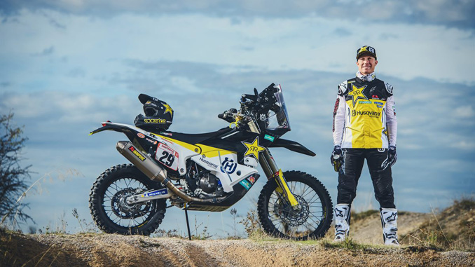 Andrew Short – Rockstar Energy Husqvarna Factory Racing - Silk Way Rally