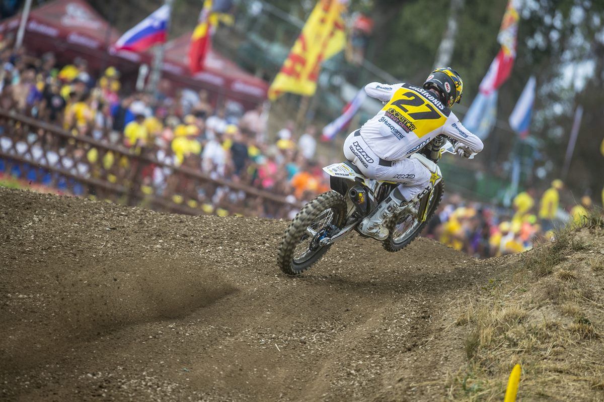 Arminas Jasikonis – Rockstar Energy Husqvarna Factory Racing - MXGP of Czech Republic