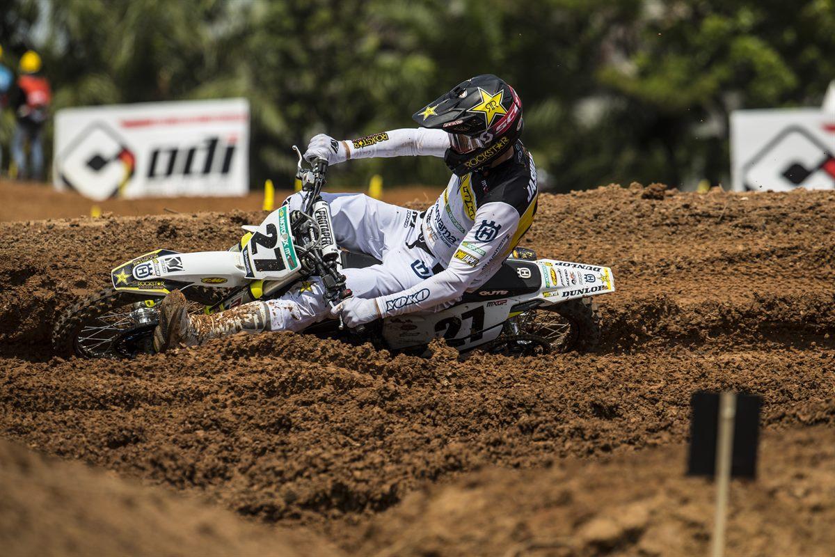 Arminas Jasikonis – Rockstar Energy Husqvarna Factory Racing - MXGP of Indonesia