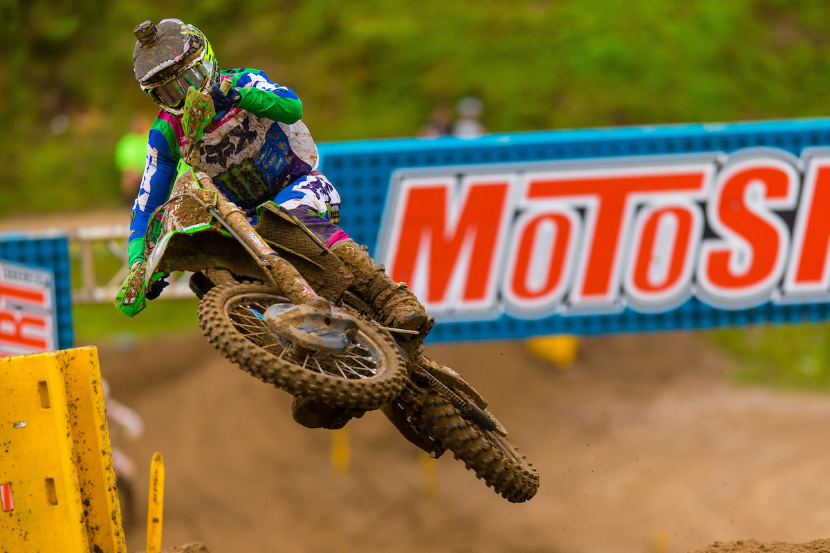 Cianciarulo raced to his sixth win in eight races in the 250 Class - Pro Motocross - Millville