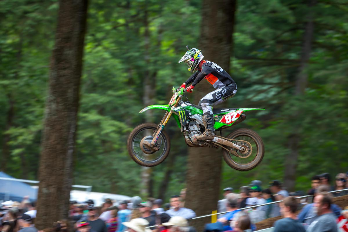 Cianciarulo was in the hunt all afternoon, but settled for the runner-up spot