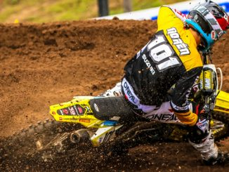 Fredrik Noren (#101) delivers strong results with his first ride on the Suzuki RM-Z450 - Southwick National