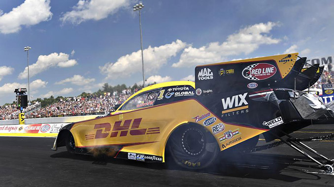 Funny Car - J.R. Todd - NHRA New England Nationals action