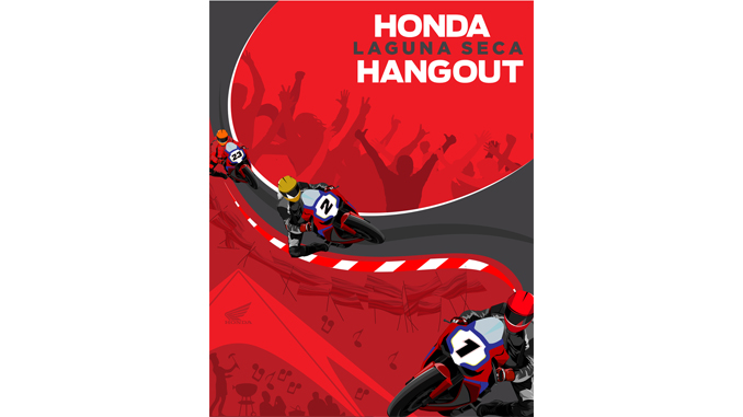 """Honda Hangout"" Planned for Laguna Seca SBK Weekend"