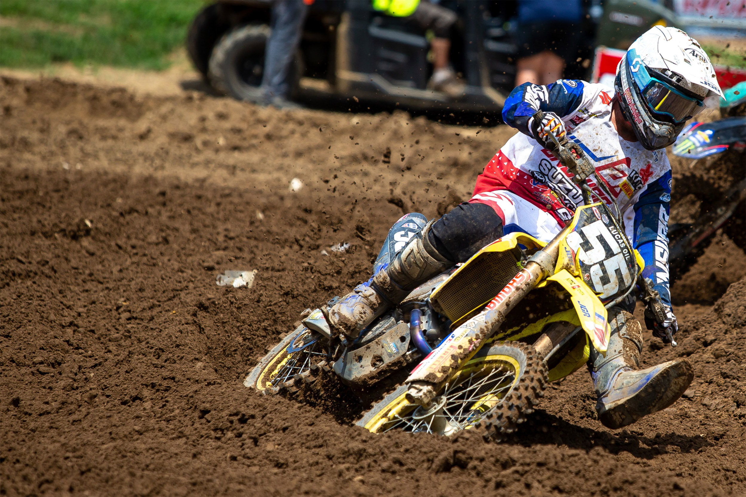 Kyle Peters (#55) delivers speed at the famed RedBud track on his RM-Z250 - RedBud National