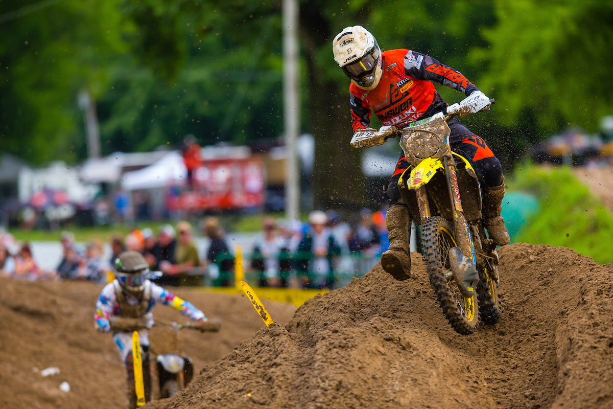 Martin earned his first podium finish of the season in front of his hometown crowd - Pro Motocross - Millville