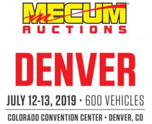 Mecum Auctions Denver logo
