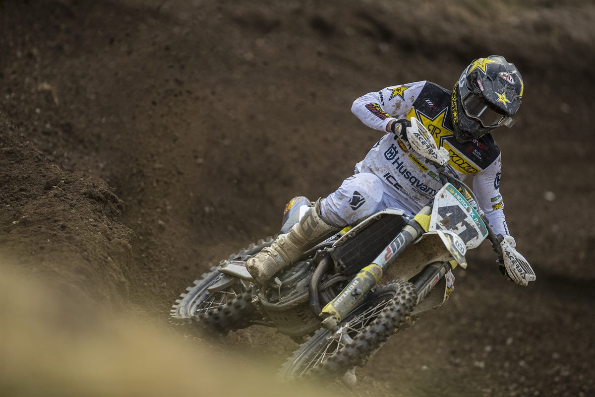 Pauls Jonass – Rockstar Energy Husqvarna Factory Racing- MXGP of Czech Republic