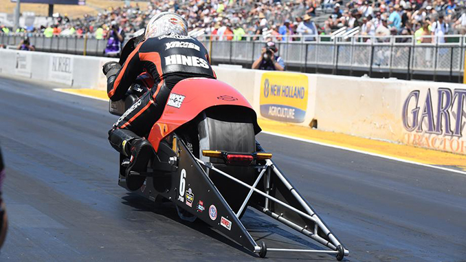 Pro Stock Motorcycle - Andrew Hines - NHRA Sonoma Nationals