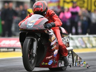 Pro Stock Motorcycle - Matt Smith - NHRA Sonoma Nationals action