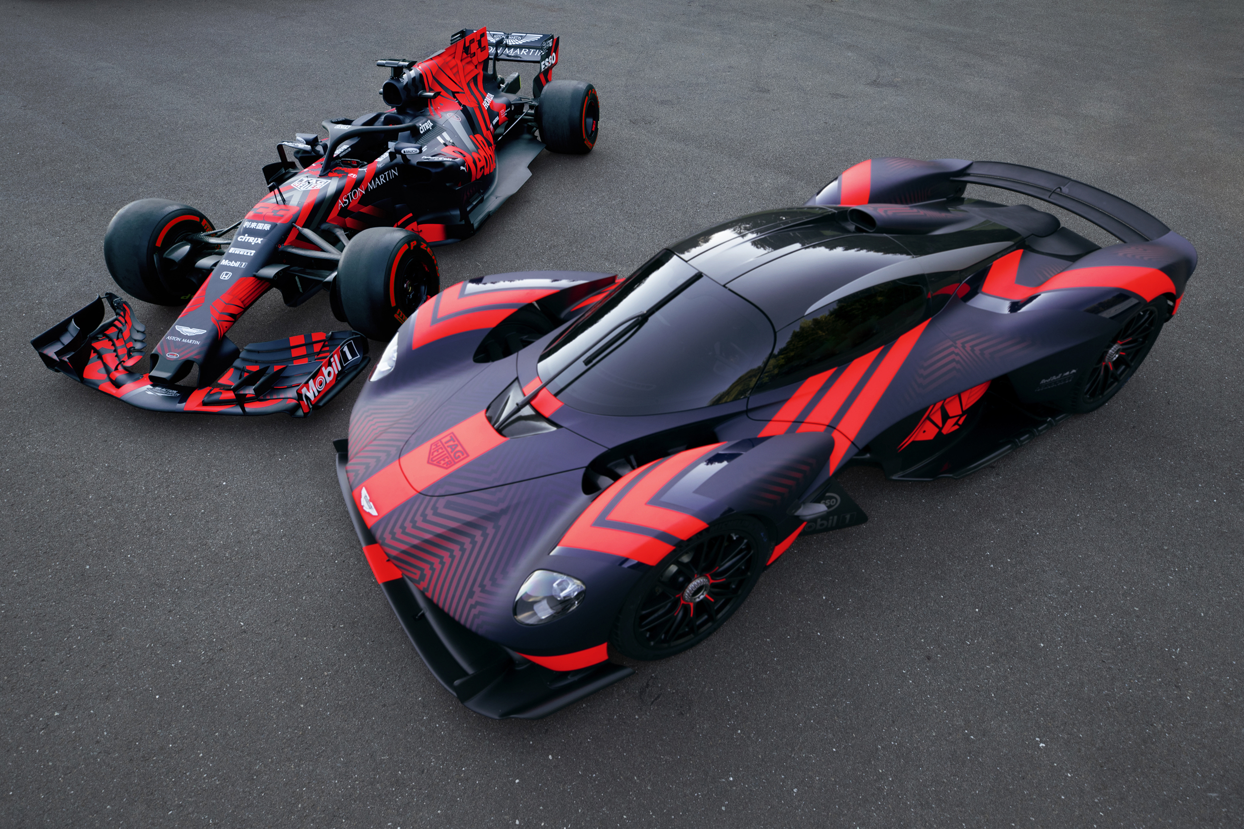 RB14 and Aston Martin Valkyrie [2]