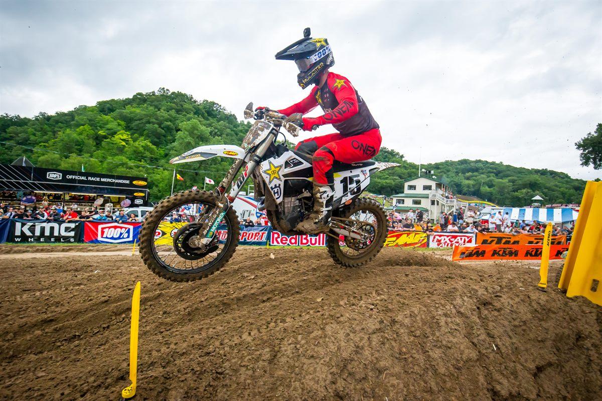 Rockstar Energy Husqvarna Factory Racing - Dean Wilson - Pro Motocross - Millville