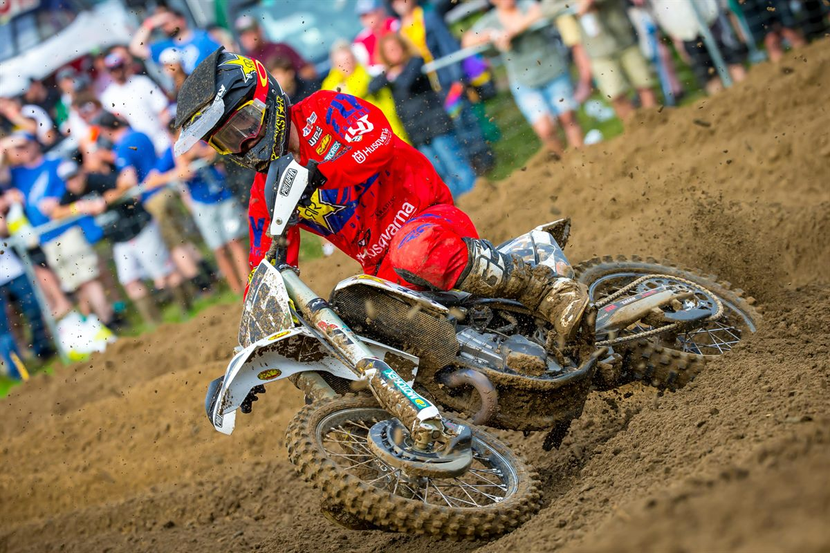 Rockstar Energy Husqvarna Factory Racing - Zach Osborne - Pro Motocross - Millville