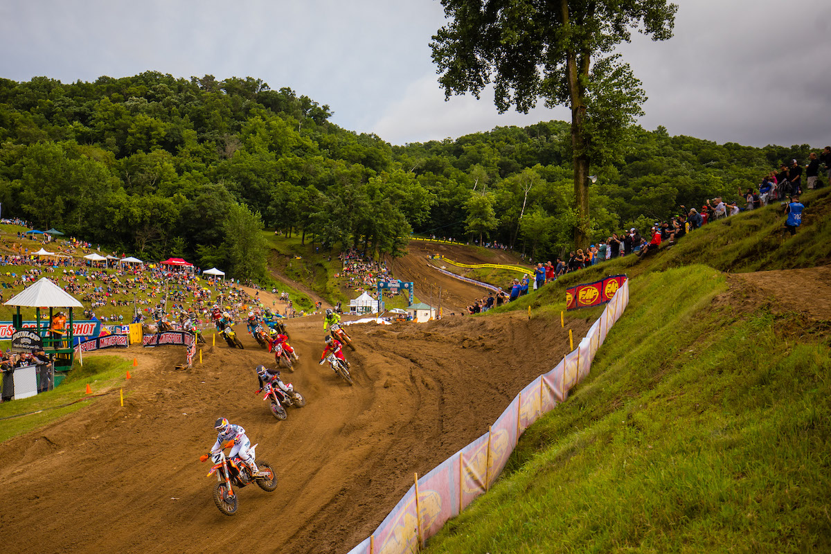 Starts were crucial to Webb's ability to win each moto - Pro Motocross - Millville