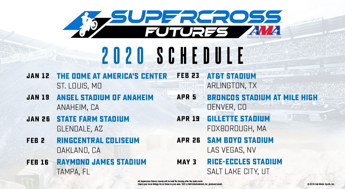 Supercross Futures, an AMA Amateur National Championship