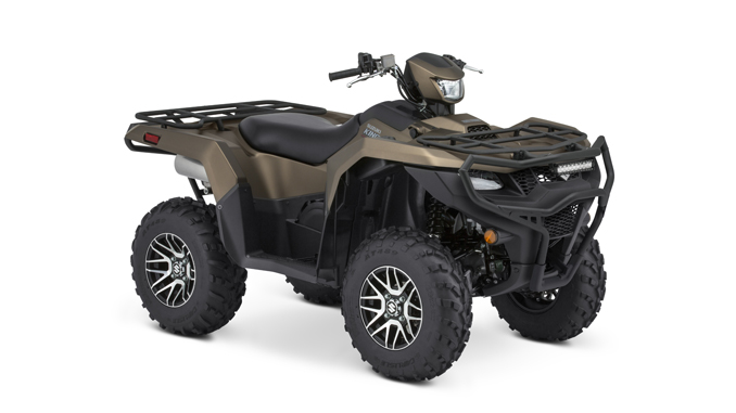 Suzuki Announces New KingQuad ATV with Rugged Package