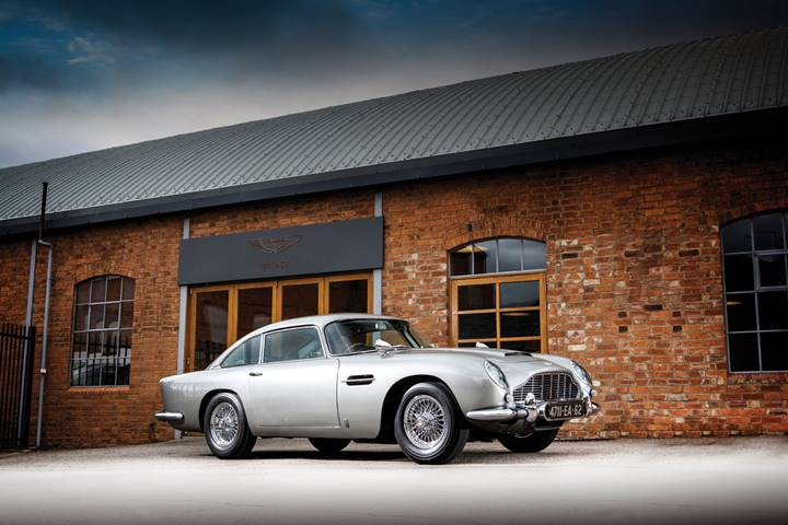 The 1965 Aston Martin DB5 Bond Car to be offered at RM Sotheby's Monterey sale (Simon Clay © 2019 Courtesy of RM Sotheby's)
