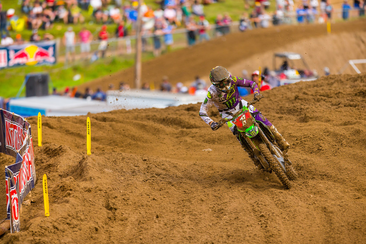 Tomac's third-place finish allowed him to add to his championship lead - Pro Motocross - Millville