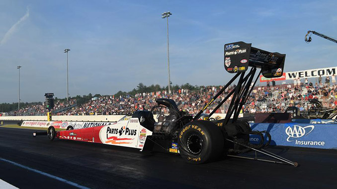Top Fuel - Clay Millican - NHRA New England Nationals action